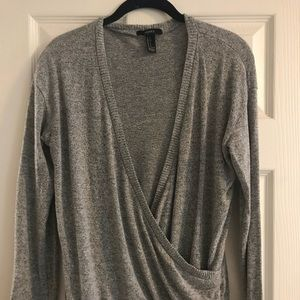 Forever 21 Wrap Sweater